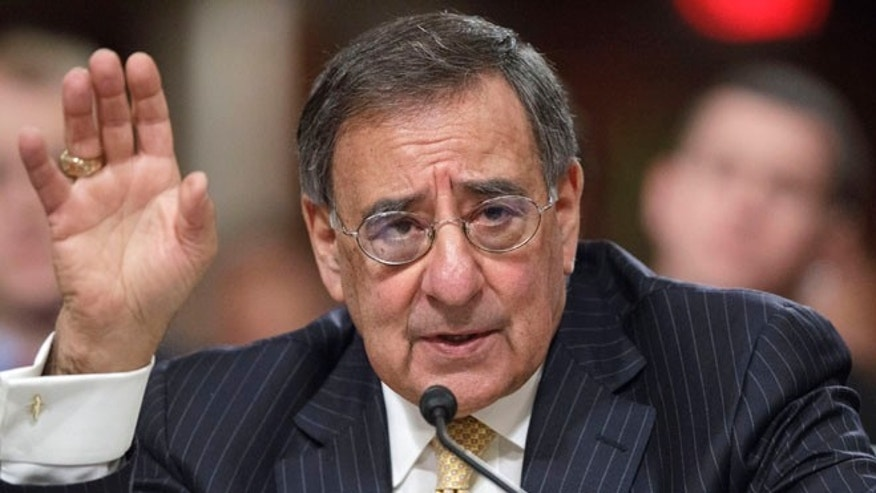 Feb. 14, 2012: Defense Secretary Leon Panetta testifies on Capitol Hill in Washington.