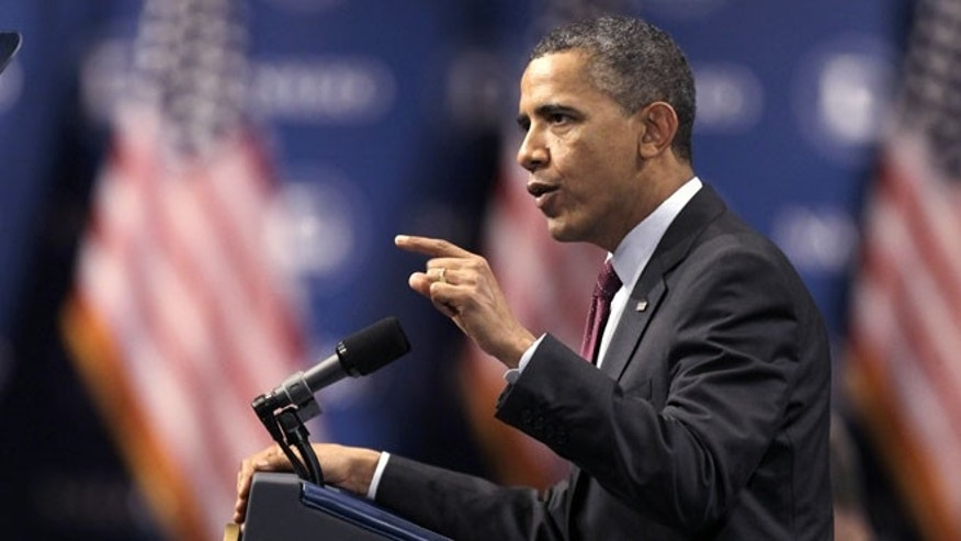June 22, 2012: President Obama speaks at the NALEO conference in Lake Buena Vista, Fla.
