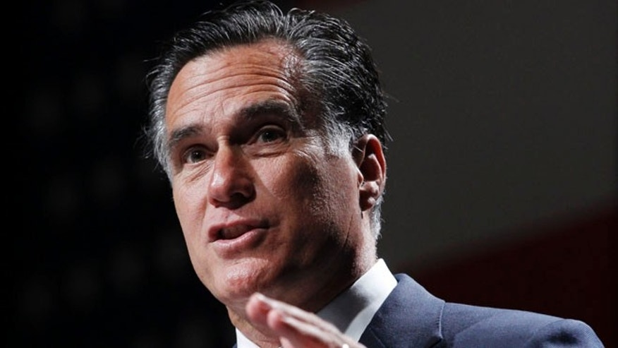 FILE: June 21, 2012: Mitt Romney campaigns in Orlando, Fla.
