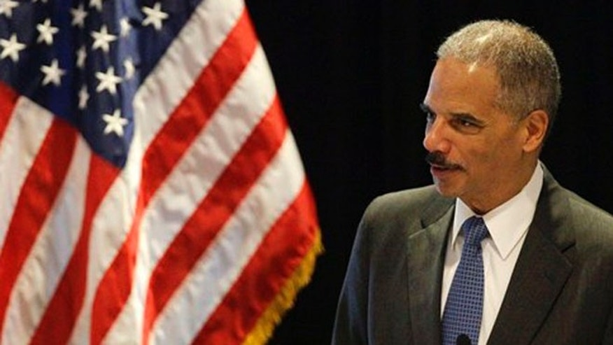June 26, 2012: Attorney General Eric Holder speaks in Boston.