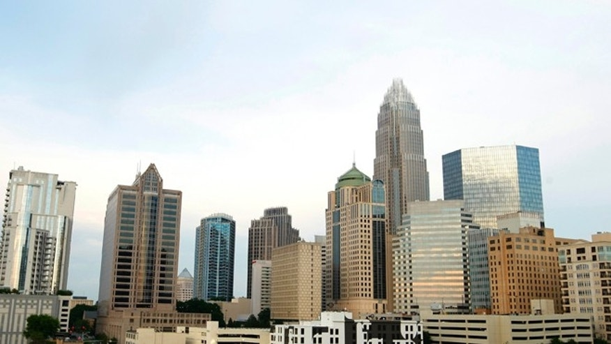FILE: May 2012: Buildings are seen in uptown Charlotte, N.C., which will host the 2012 Democratic National Convention in September.