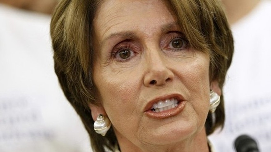 July 11, 2012: House Minority Leader Nancy Pelosi speaks on Capitol Hill in Washington.