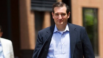 """Ted Cruz, Republican candidate for U.S. Senate, walks to a news conference, the day after defeating Lt. Gov. David Dewhurst in a runoff primary election, Wednesday, Aug. 1, 2012, in Houston. Cruz says his tea party supporters who helped him pull off an upset in the Republican primary runoff are """"everyday Texans"""" who want common sense answers to problems plaguing the country. (AP Photo/Houston Chronicle, Brett Coomer)"""