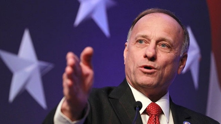 Shown here is Iowa Republican Rep. Steve King.