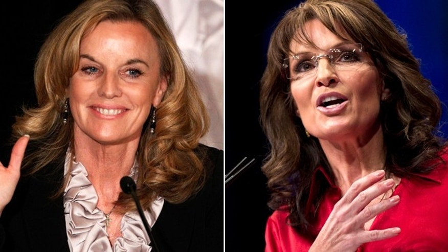 Republican Senate candidate Sarah Steelman of Missouri, seen at left in a February 2012 file photo, has received some high-profile support, most notably from Sarah Palin.