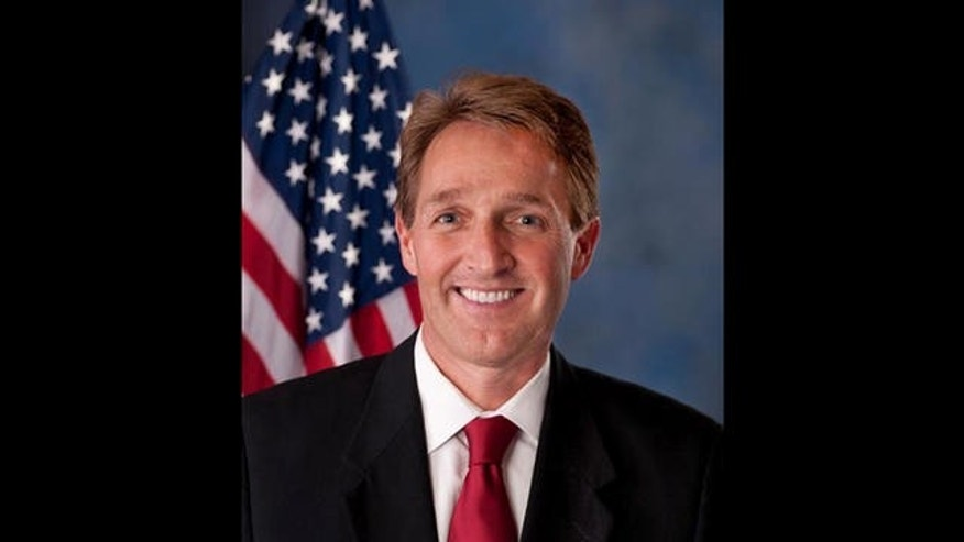 Rep. Jeff Flake, Arizona Republican, is emerging as the frontrunner in the GOP primary, set for Tuesday.