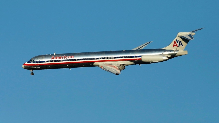 FILE: The Romney campaign has a McDonnell Douglas MD-83, similar to the one pictured here, ready to carry the candidate though the election in November.