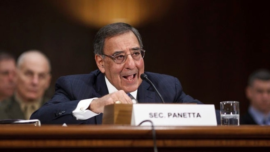 FILE: March 7, 2012: Defense Secretary Leon Panetta testifies on Capitol Hill in Washington.