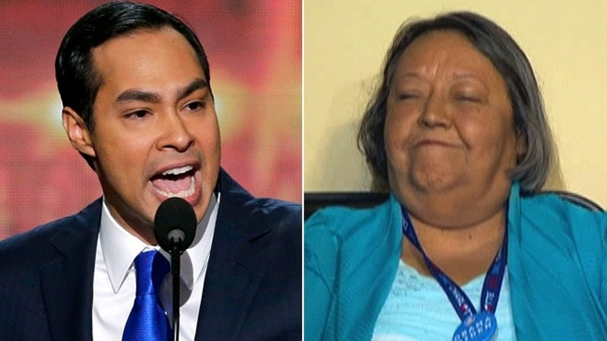 Sept. 4, 2012: San Antonio Mayor Julian Castro and his mother, Maria del Rosario Castro, at the Democratic National Convention in Charlotte, N.C.