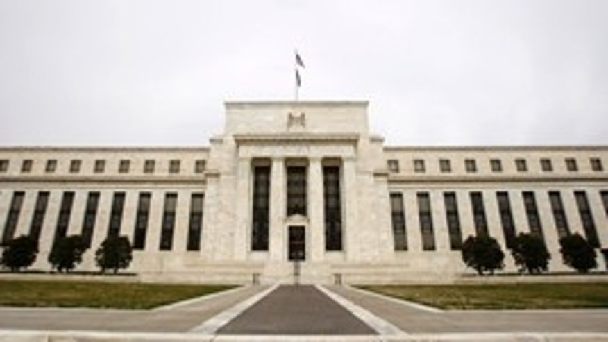 The U.S. Federal Reserve Building is pictured in Washington.