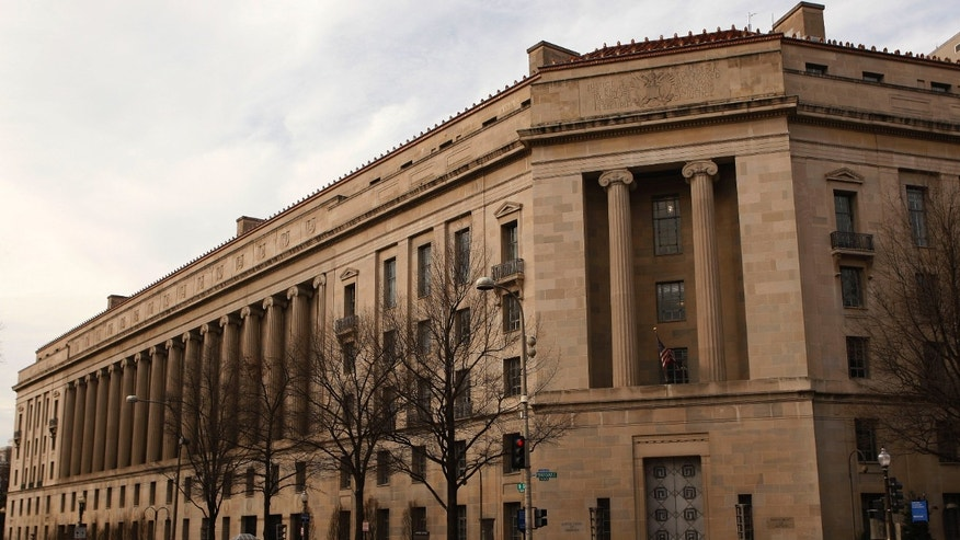 March 4, 2012: The Justice Department building is seen in Washington.