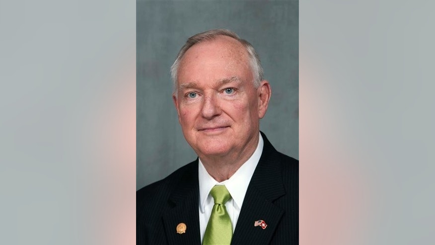 This photo provided by the Arkansas Secretary of State's office shows Jon Hubbard.