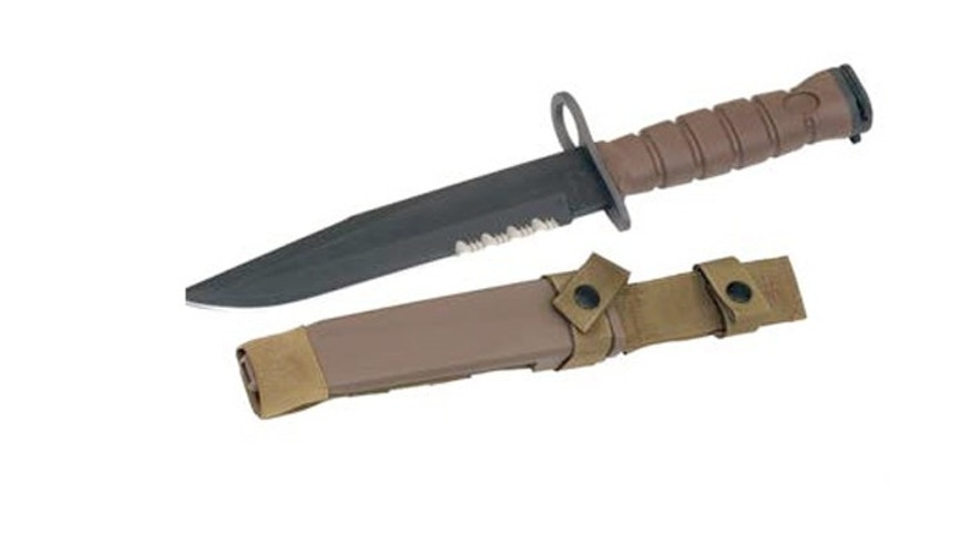 The Ontario Knife Company of Franklinville, N.Y., still makes bayonets for the U.S. military. (Ontario Knife Company)