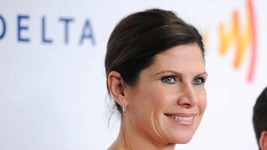 FILE: April 21, 2012: Mary Bono Mack at the GLAAD Media Awards in Los Angeles, Calif.