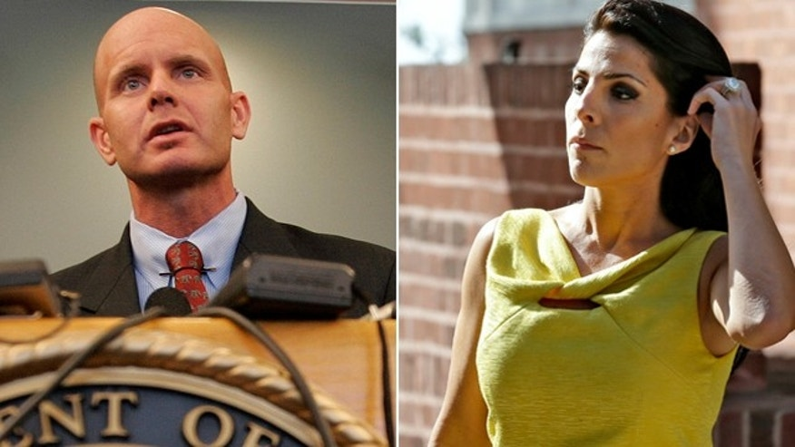 FBI Agent Fredrick Humphries and Tampa socialite Jill Kelley.