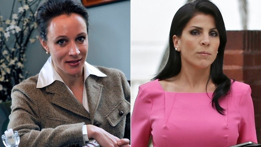 This combo made from file photos shows Gen. David Petraeus' biographer and paramour Paula Broadwell, left, and Florida socialite Jill Kelley.