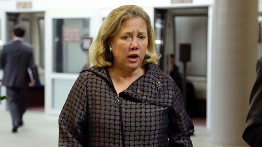 Nov. 13, 2012: Sponsored by Sen. Mary Landrieu, D-La., seen here on on Capitol Hill in Washington, the bill -- if passed -- would make the adoption tax credit a permanent part of the tax code and provide up to $13,170 for covered adoption expenses, adjusted for inflation. (AP)