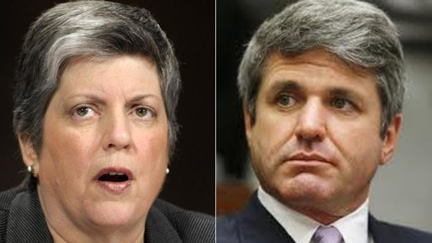 Texas Rep. Mike McCaul (r.) believes Janet Napolitano and the Obama administration mince words when it comes to terrorism. (AP)