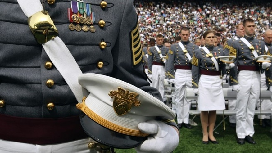 FILE: The first gay marriage is set to take place Saturday at West Point's Chapel.