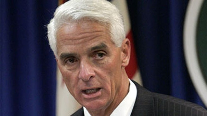 Shown here is former Florida Gov. Charlie Crist.