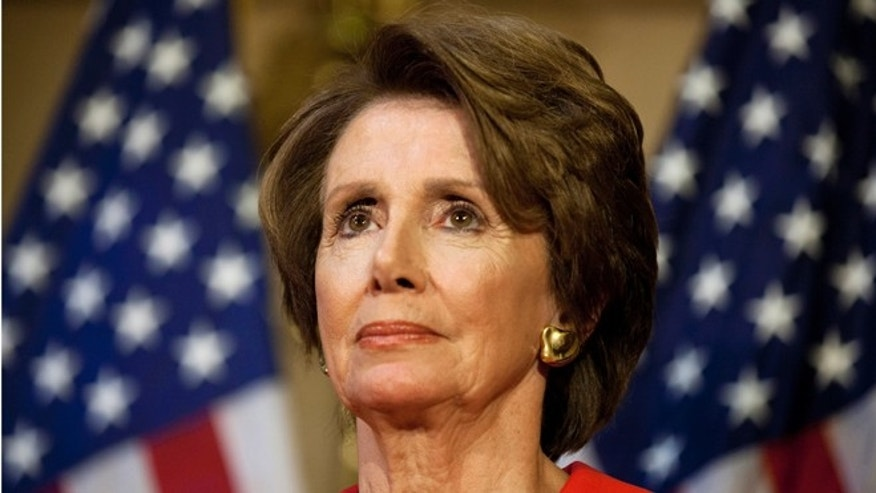Wednesday, Dec. 12, 2012: House Minority Leader of Nancy Pelosi, D-Calif., at a news conference on Capitol Hill in Washington.