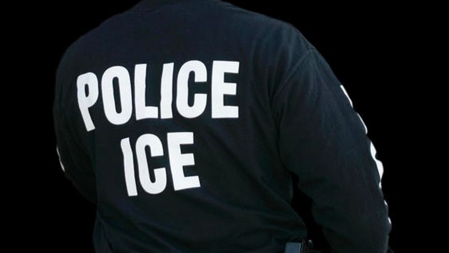FILE: An Immigration and Customs Enforcement agent enters a restaurant to remove evidence in Cheektowaga, N.Y.