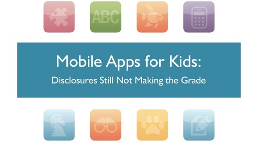 "The cover of the FTC's Mobile Apps for Kids: Disclosures Still Not Making the Grade"" guide. The Federal Trade Commission is investigating an unspecified number of software companies that make cellphone apps to determine whether they have violated the privacy rights of children by quietly collecting personal information from their phones then sharing it with advertisers and data brokers, the agency said."