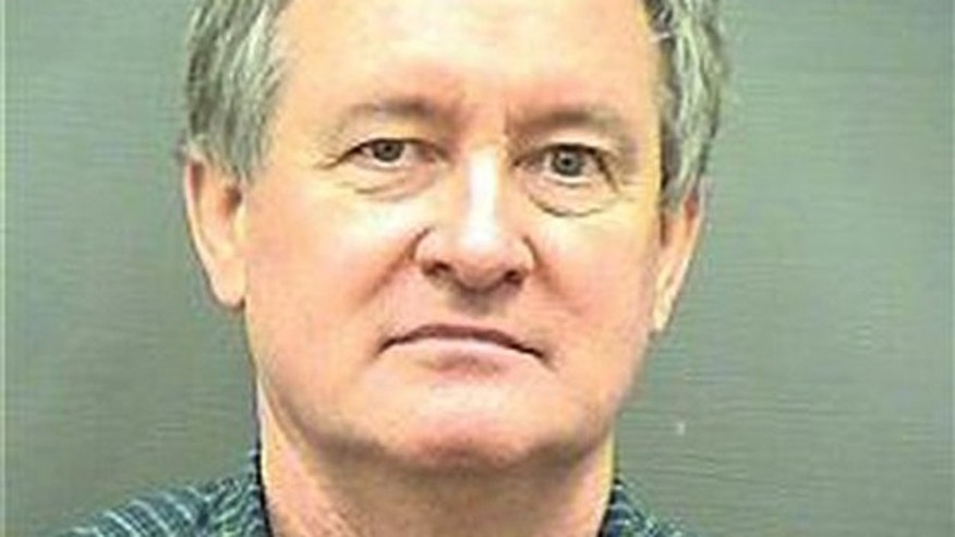 Dec. 23, 2012: This booking photo provided by the Alexandria, Va. Police Department shows Idaho U.S. Sen. Michael Crapo.