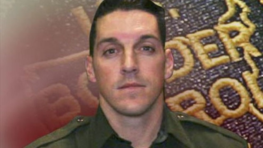 This undated photo provided by U.S. Customs and Border Protection shows U.S. Border Patrol agent Brian A. Terry.