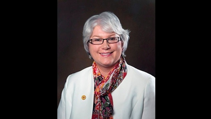 New Mexico state Rep. Cathrynn Brown is seen in a photo featured on the Legislature's website.