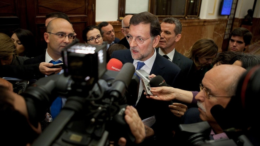 Spanish Prime Minister Mariano Rajoy. (Photo by Pablo Blazquez Dominguez/Getty Images)