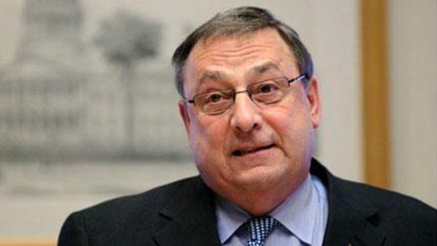 FILE: Maine Gov. Paul LePage