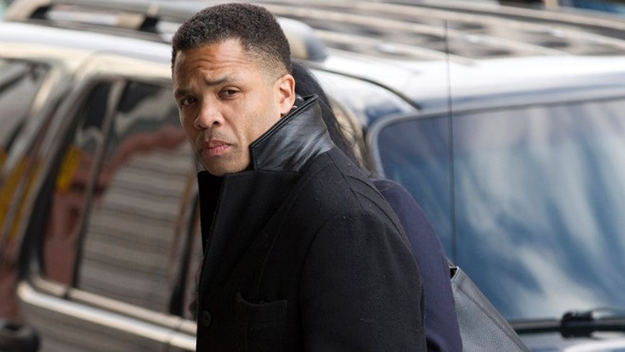 Feb. 20, 2013: Former Illinois Rep. Jesse Jackson Jr. arrives at the E. Barrett Prettyman Federal Courthouse in Washington.