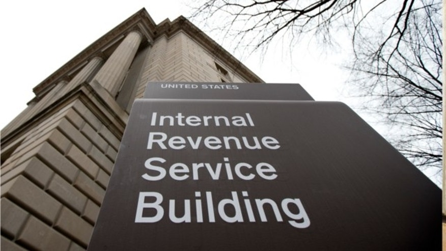 March 2, 2013: This photo shows the Internal Revenue Service building at the Federal Triangle complex in Washington.