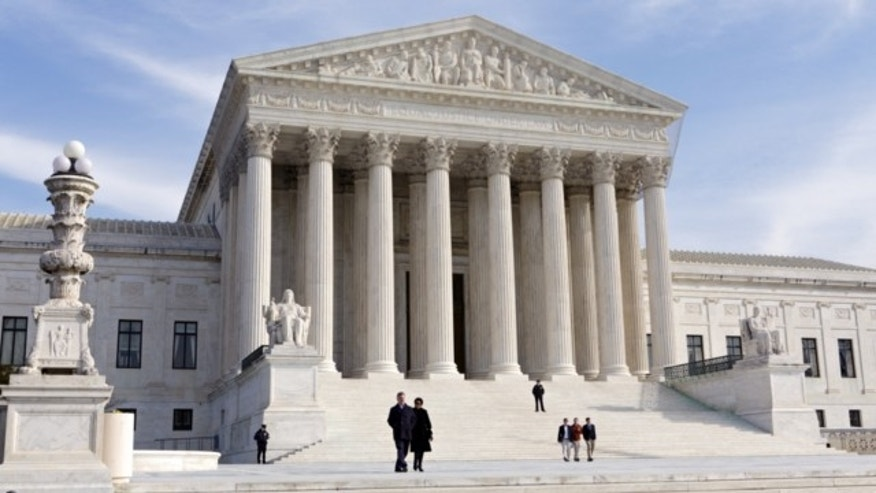 June 20, 2012: This file photo shows a view of the U.S. Supreme Court in Washington.