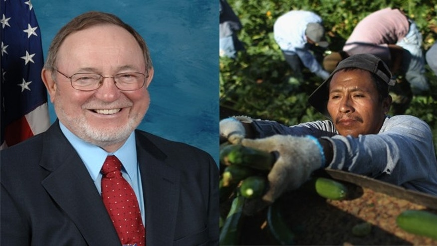 Rep. Don Young of Alaska (left) made an ethnic slur about Hispanic farmworkers during a radio interview.