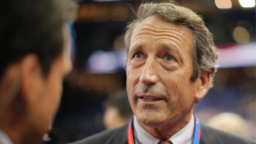 Aug. 28, 2012: Former South Carolina Gov. Mark Sanford at the Republican National Convention in Tampa, Fla.