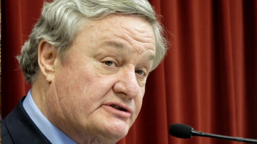 April 16, 2012: North Dakota Gov. Jack Dalrymple speaks in Bismarck, N.D.