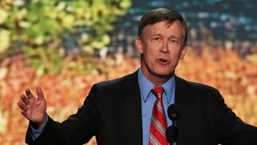 Colorado Gov. John Hickenlooper. (Photo by Alex Wong/Getty Images)