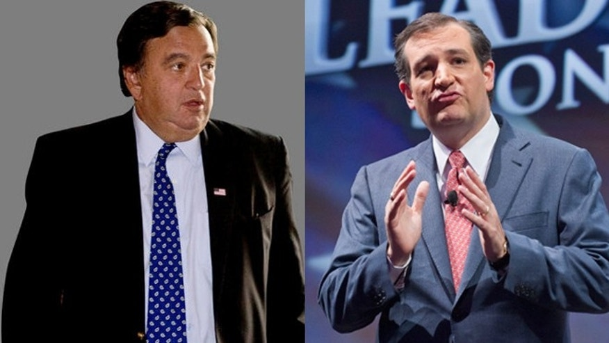 Shown here are former New Mexico Gov. Bill Richardson, left, and Texas Sen. Ted Cruz.