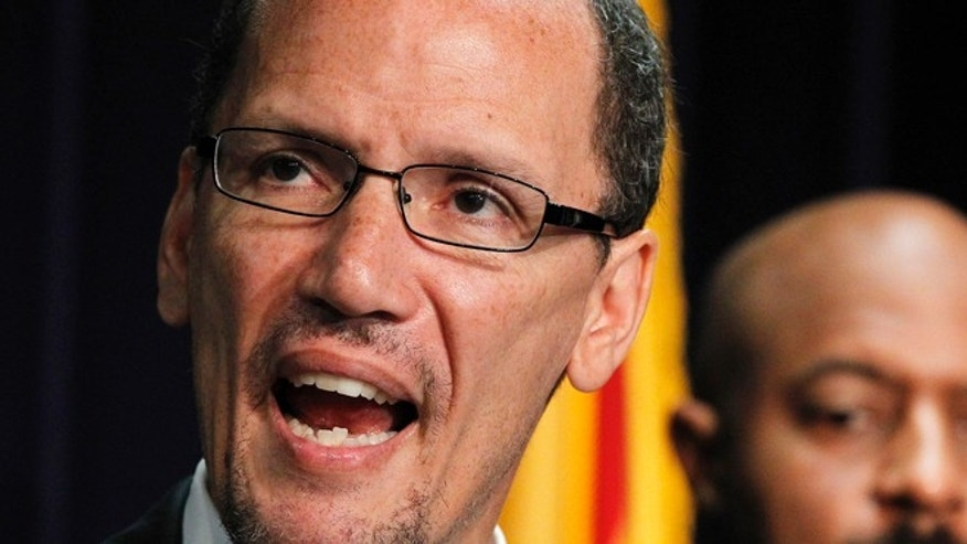 Labor Secretary nominee Thomas Perez