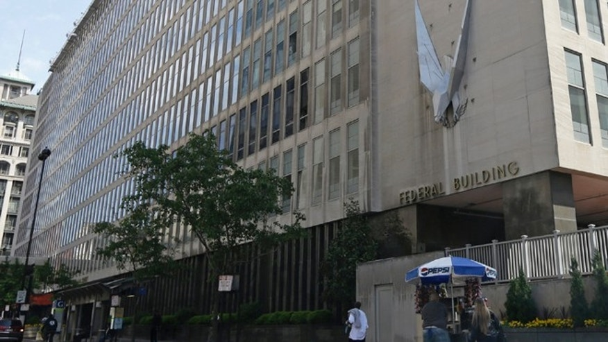 The John Weld Peckshown Federal Building in Cincinnati, houses the main offices for the Internal Revenue Service in the city. Tea party groups are planning a demonstration at the site Tuesday afternoon.