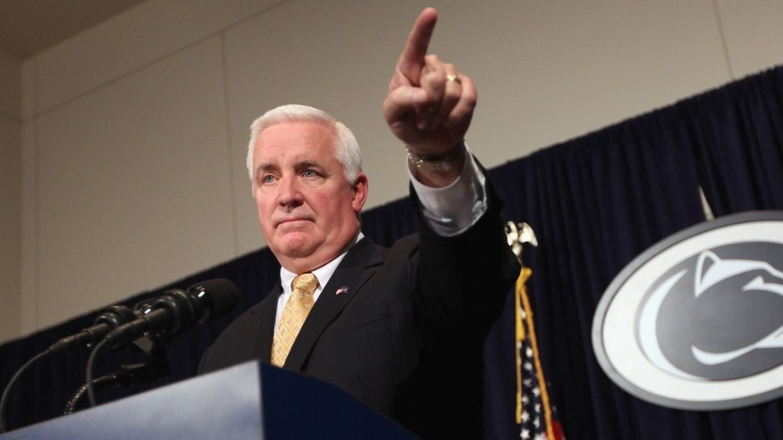Pennsylvania Governor Tom Corbett.