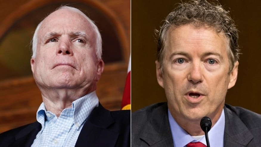 Recent sniping between upstart Kentucky Sen. Rand Paul and Arizona Sen. John Mc Cain underscores the divide within the Republican Party.