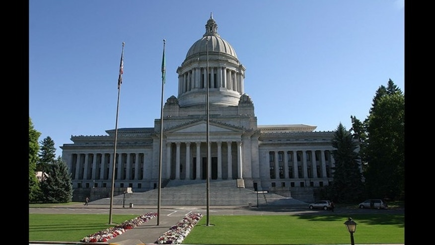 Washington State Capitol Legislative Building in Olympia, Wash.