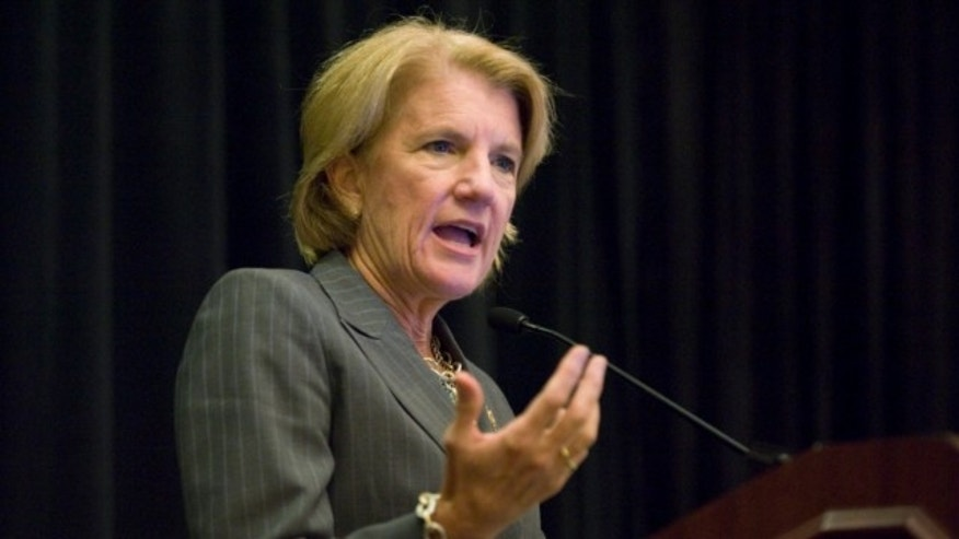 FILE: Sept. 20, 2011: Rep. Shelley Moore Capito, R-W.V., at the American Banker Regulatory Symposium in Washington.