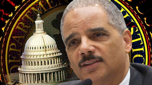 Attorney General Eric Holder testifies on Capitol Hill in Washington, Tuesday, May 3, 2011, before a House Judiciary Committee oversight hearing.  (AP Photo/Evan Vucci)