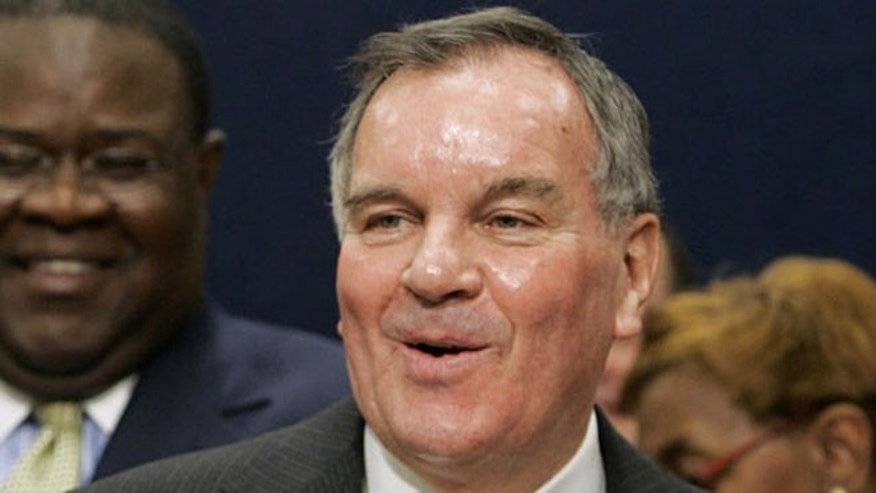 Former Chicago Mayor Richard M. Daley speaks at a news conference in this Nov. 13, 2006 file photo.