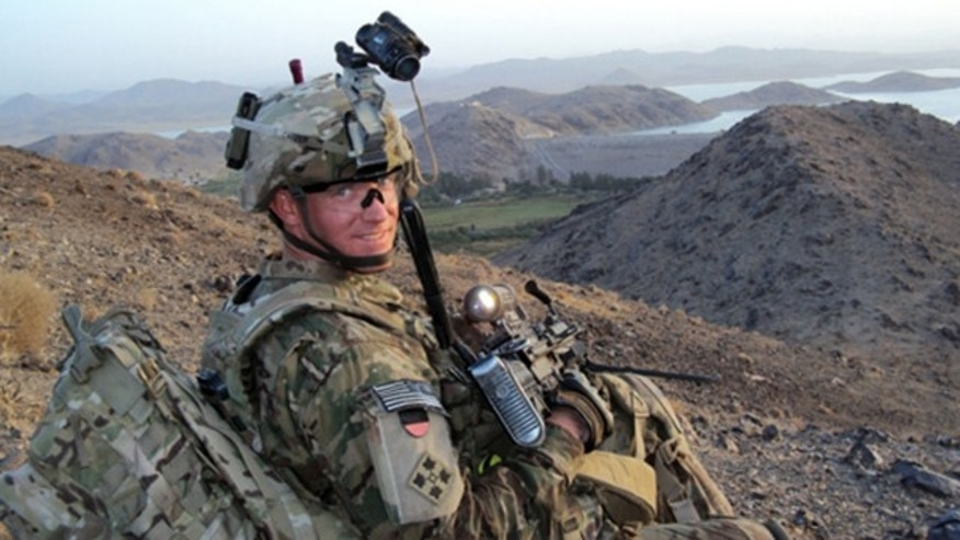 UNDATED: This photo released by the U.S. Army shows Staff Sgt. Ty Carter, of Spokane, Wash. The White House on Friday, July 26, 2013 said President Barack Obama will bestow the Medal of Honor on Carter for courageous action during a daylong firefight in Afghanistan.