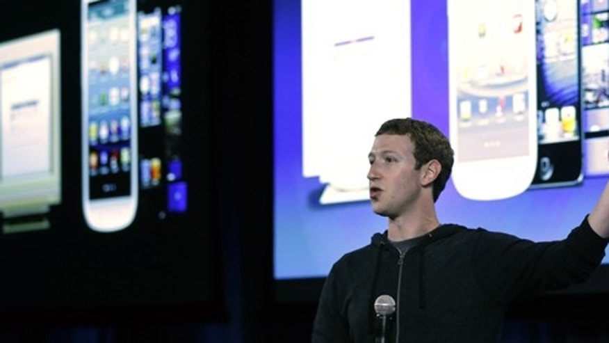 Facebook CEO Mark Zuckerberg speaks at the company's headquarters in Menlo Park, Calif., Thursday, April 4, 2013. (AP Photo/Marcio Jose Sanchez)